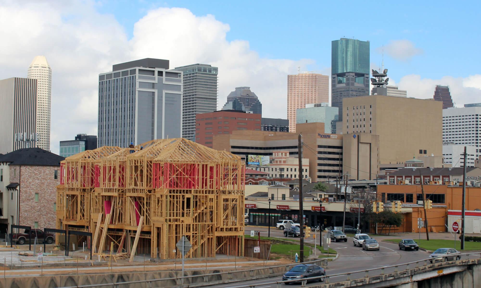 Construction in Houston, Texas