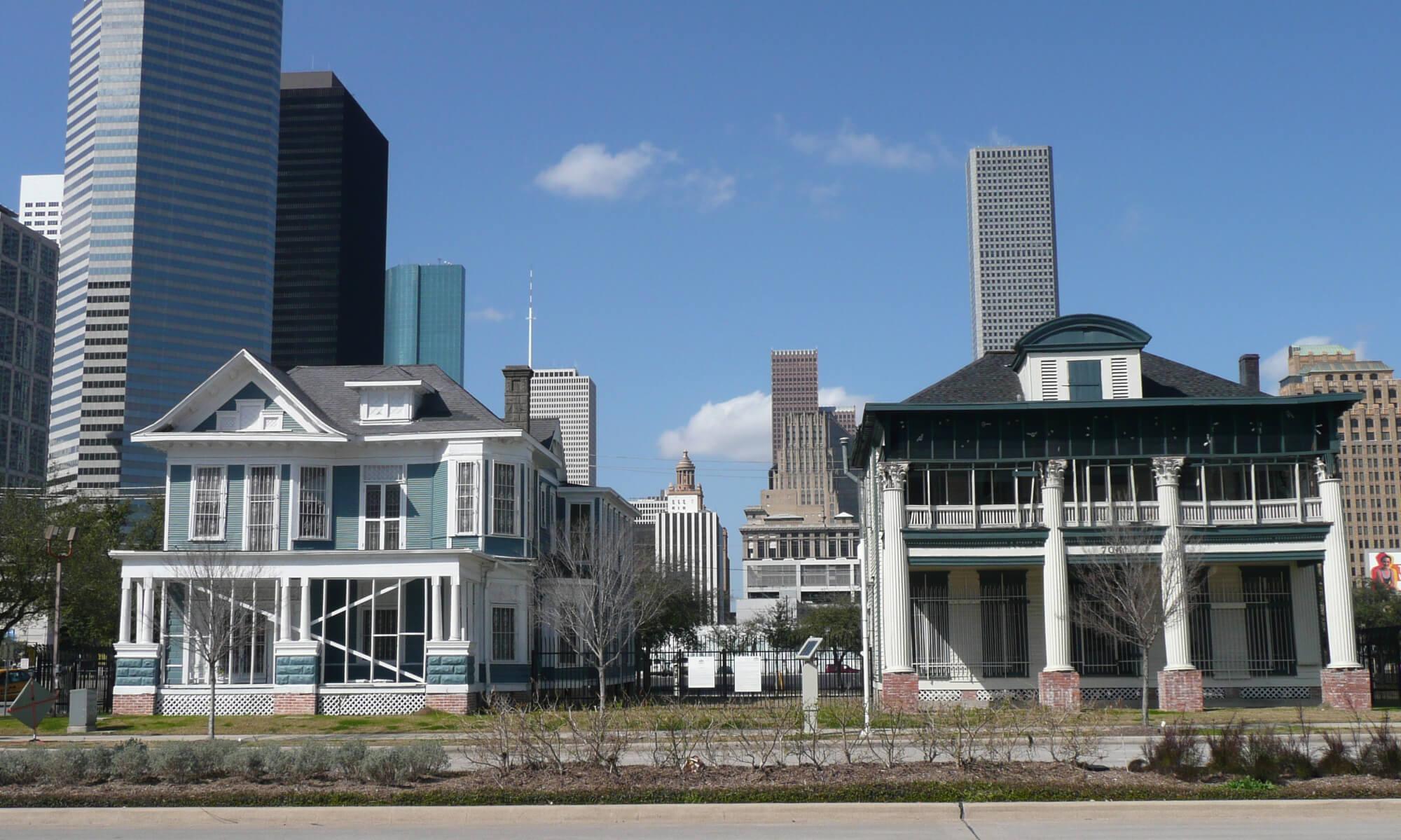 Houses in Houston, Texas
