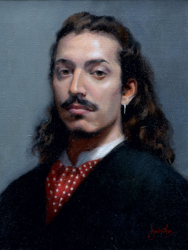 lacopo oil portrait