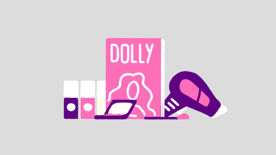 Dolly Magazine Concept Illustration