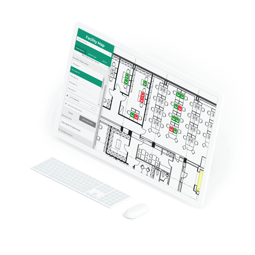 Screen laptop interface