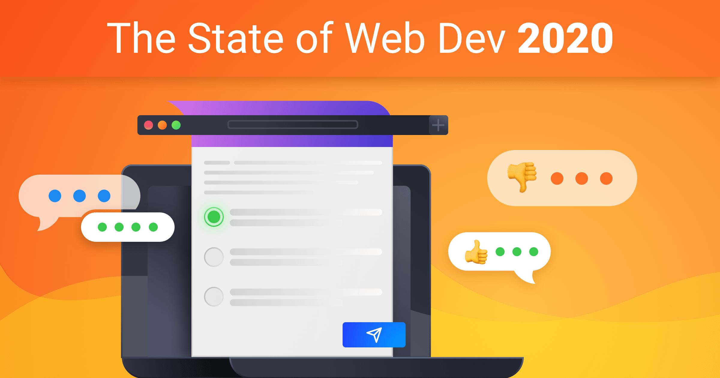 The State of Web Development 2020! Survey