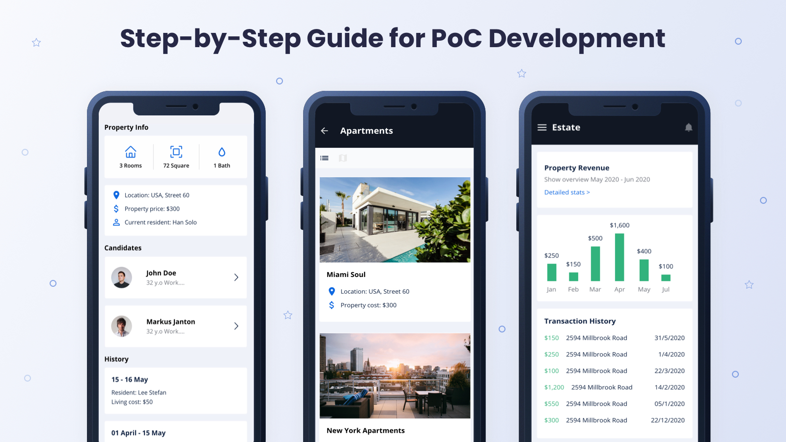 PoC Development Steps | Guide by Akveo