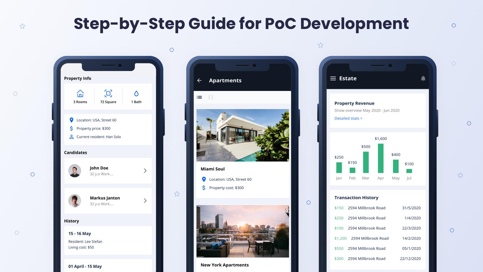 PoC Development Steps: Guide Based on Building a Mobile App for Real Estate