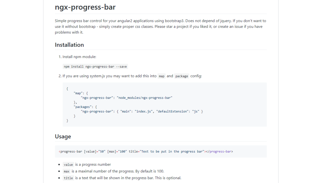 Ngx-progress-bar