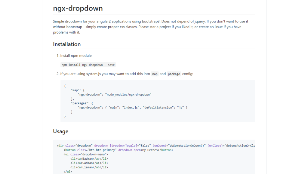 Ngx-dropdown