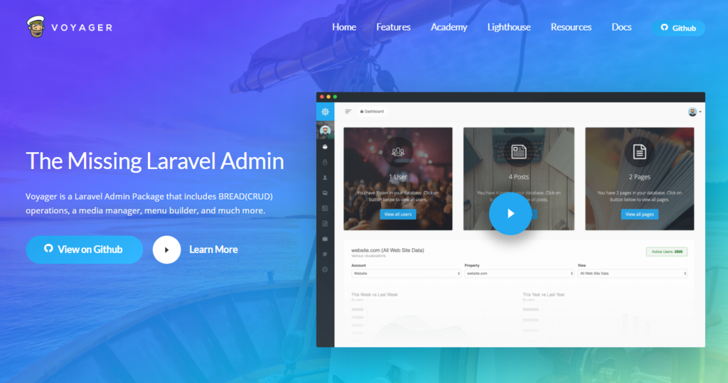 Voyager — The Missing Laravel Admin