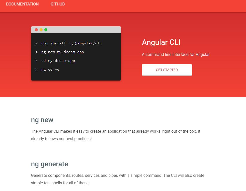 Angular-CLI