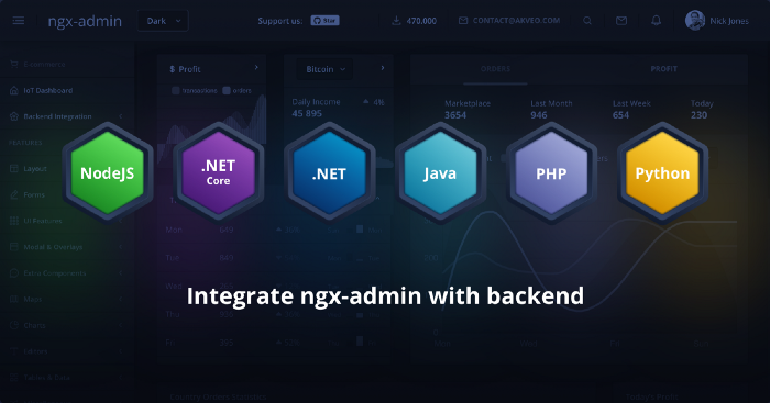 What Are ngx-Admin dashboards with Backend, and Why Do You Need Them