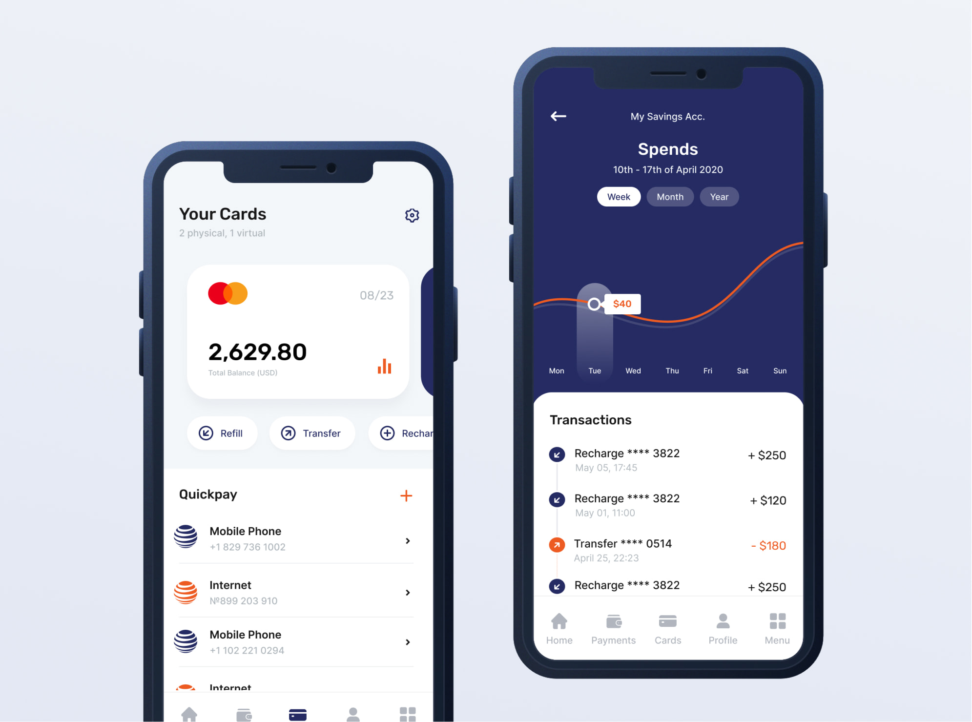 Case study for mobile app development in banking area