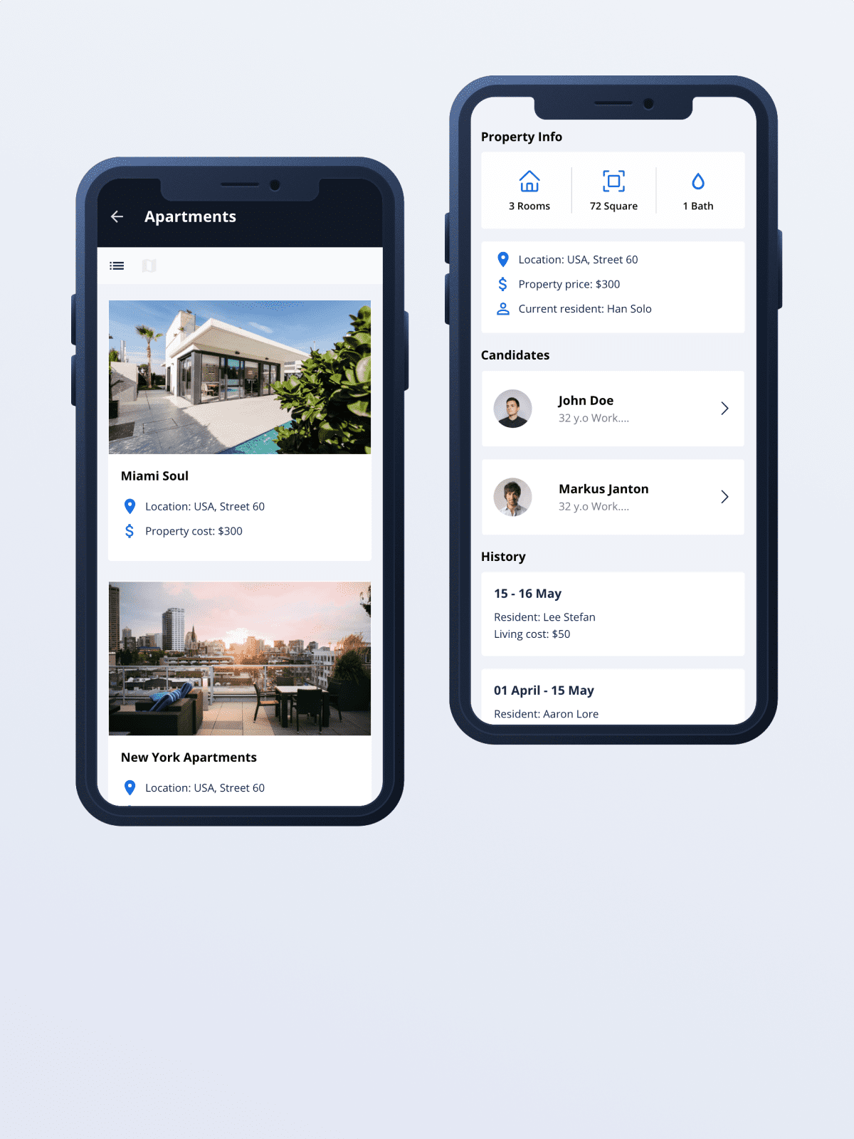 Proof of concept for a Mobile assistant for landlords