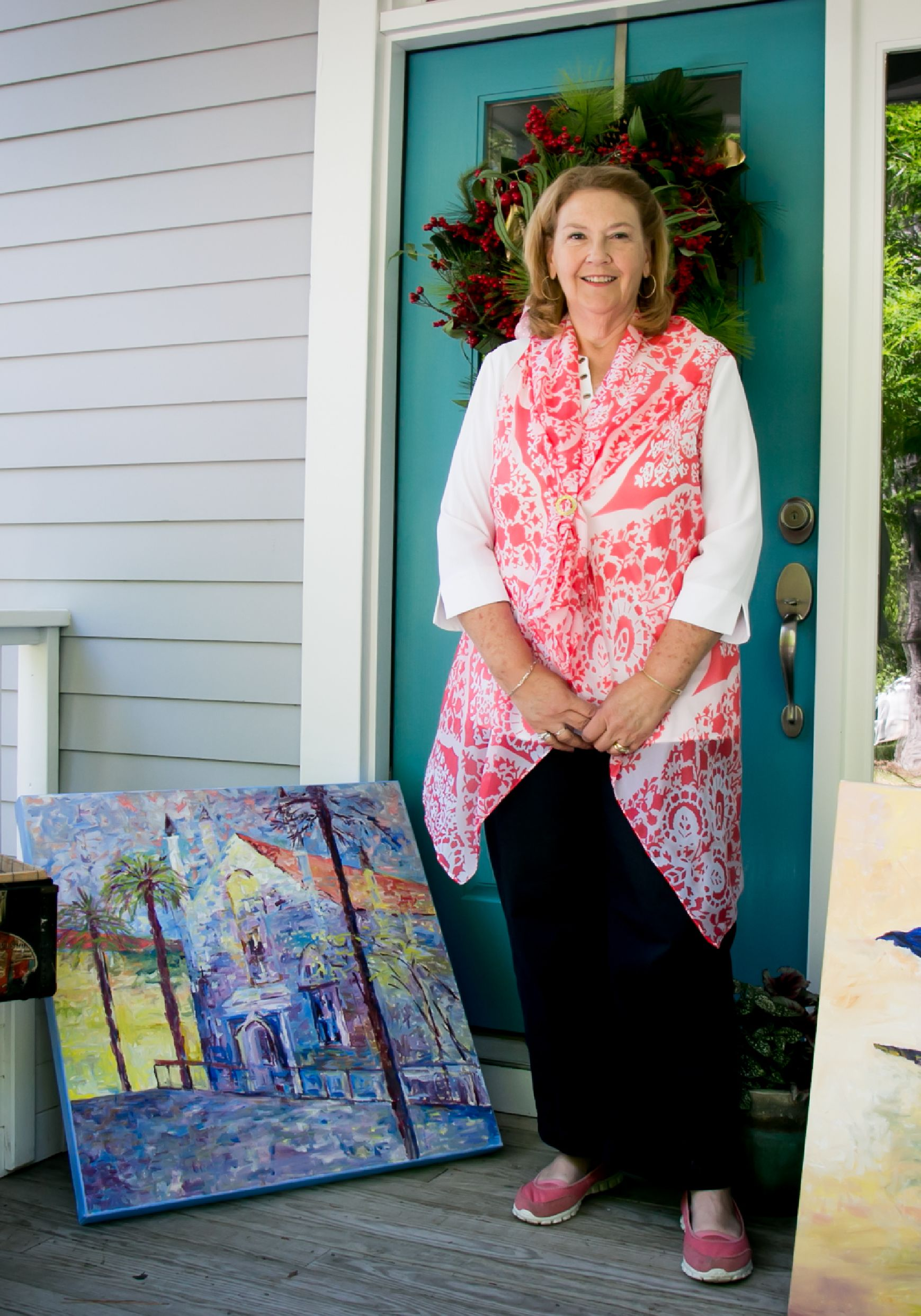 Woodsong painter artist