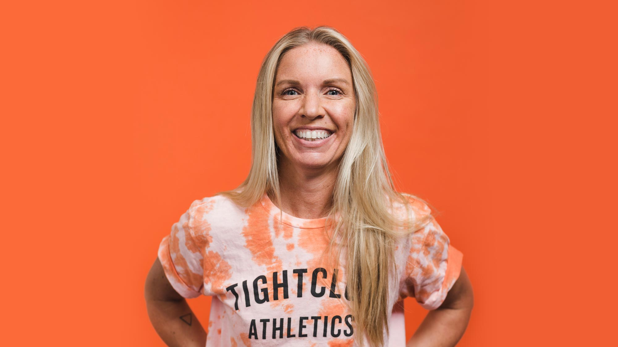 Tight Club Athletics - Nat Taylor - Team Coach. She/Her.