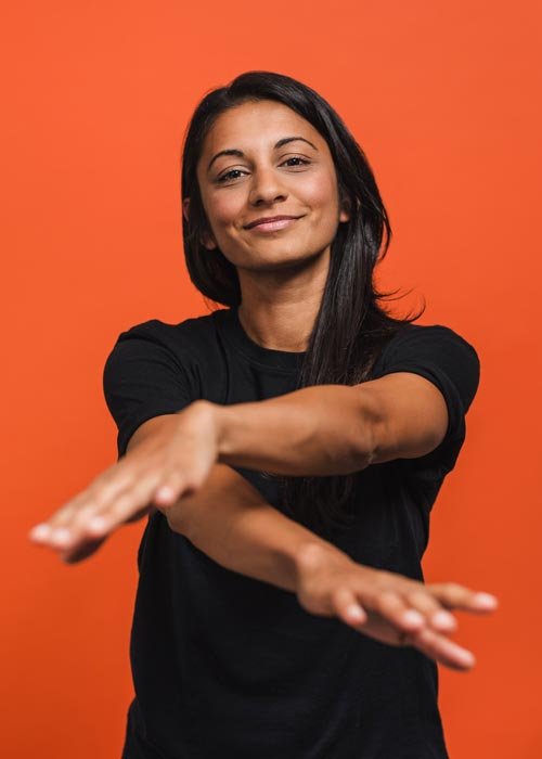 Tight Club Athletics - Shinead D'Souza - Group Fitness Instructor. she/her.