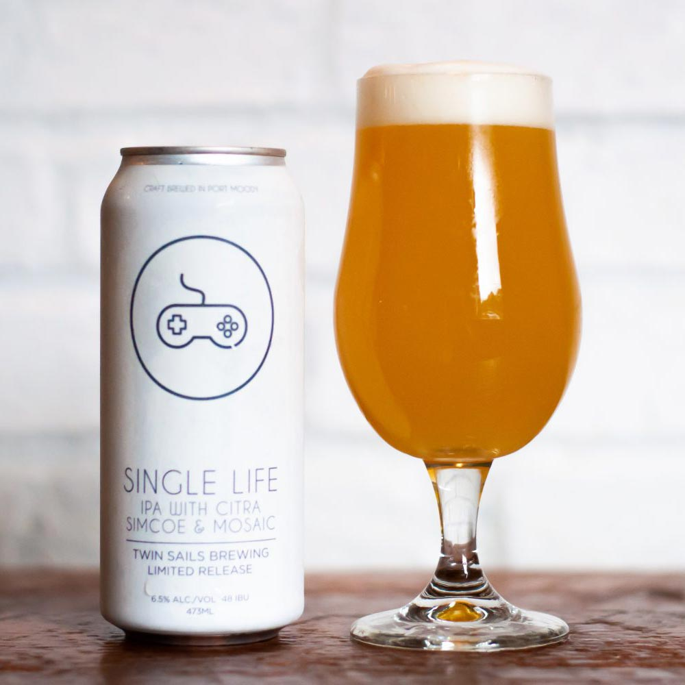 Collaboration with Twin Sails Brewery
