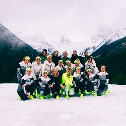 Collaboration with Nike Running Canada