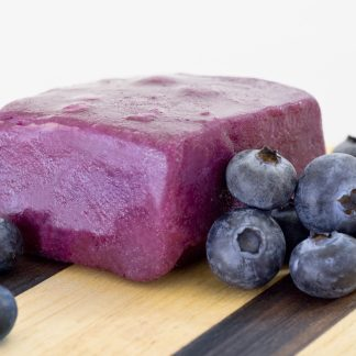 Created with wild, Alaskan low-bush blueberries bursting with sweetness. No artificial color or flavor needed.