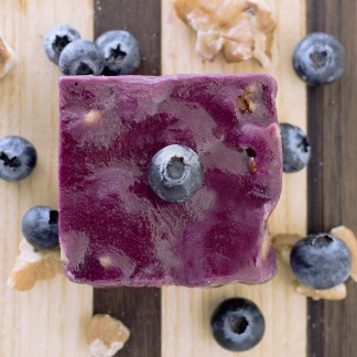 Our blueberry creation filled with California grown English walnuts! Made with Real Alaskan Blueberries.
