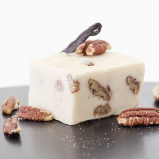 Buttery, smooth, vanilla fudge-filled, with Texas-grown pecans. the ice cream has met its match!
