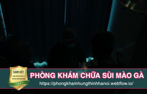 Địa chỉ phòng khám chữa sùi mào gà tại Hà Nội