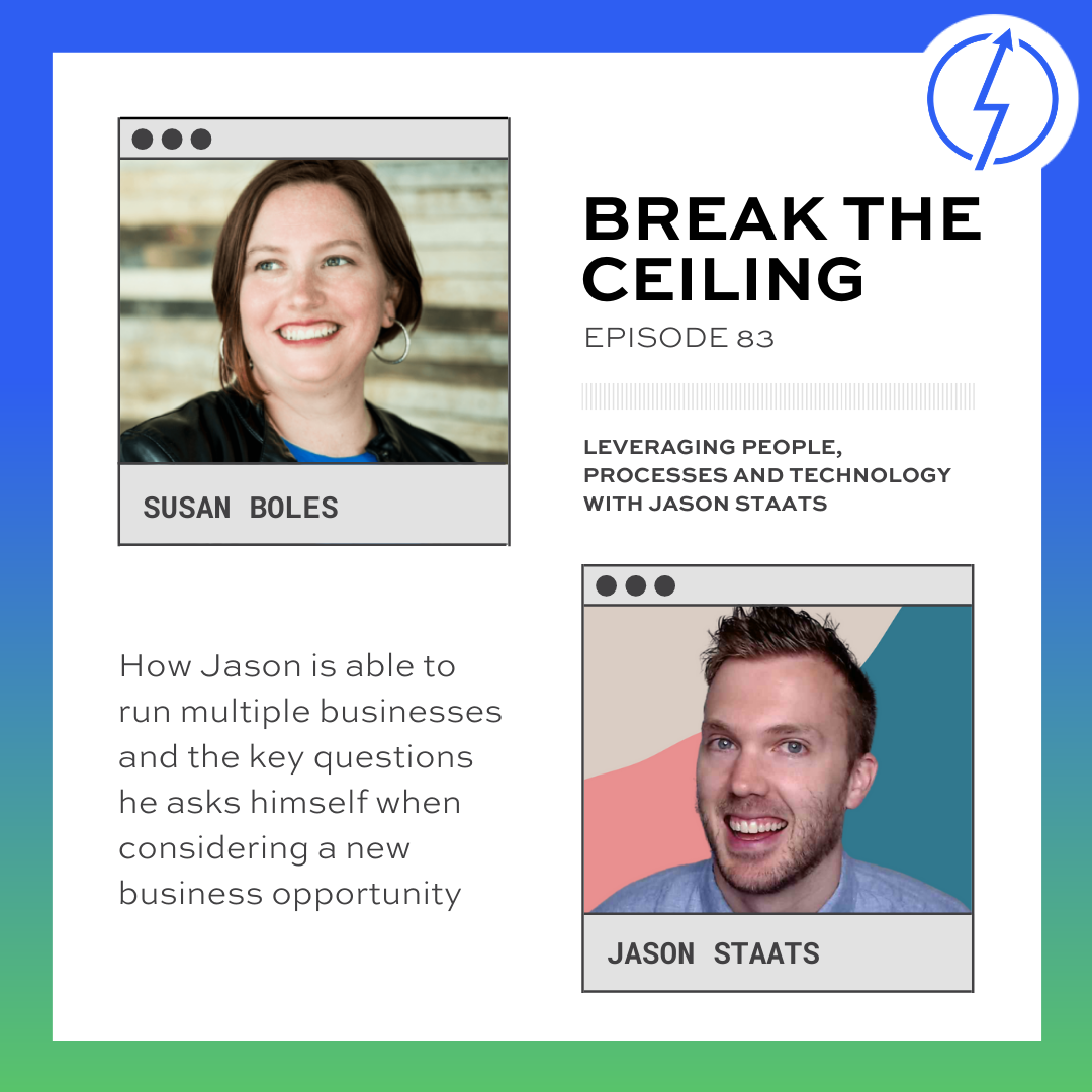 """""""How Jason is able to run multiple businesses and the key questions he asks himself when considering a new business opportunity."""""""