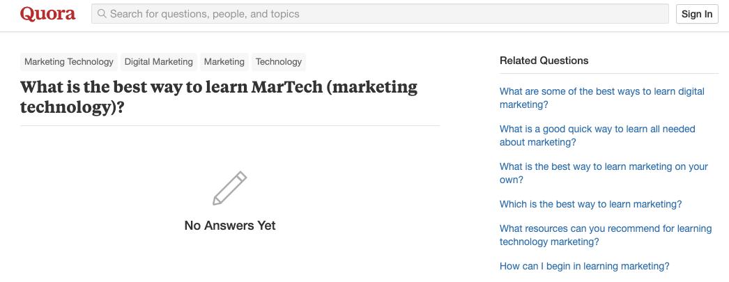 quora-learn-martech-yield-group-associate-program-yield-group-jobs-data-driven-growth-data-driven-marketing