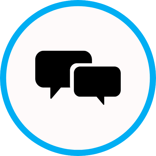 Comment box icon