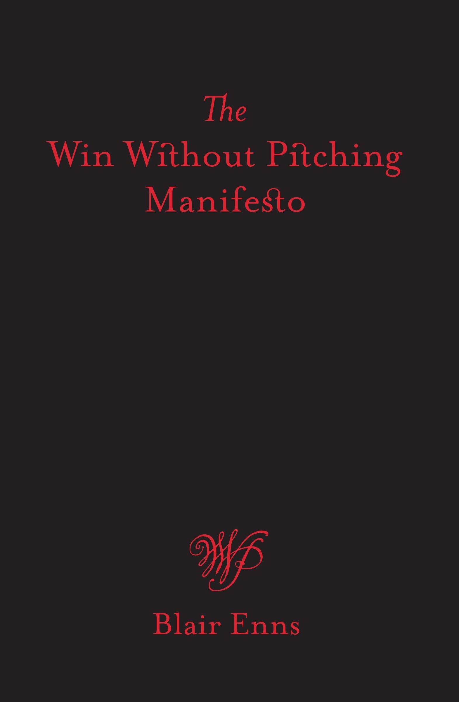 The Win Without Pitching Manifesto book cover