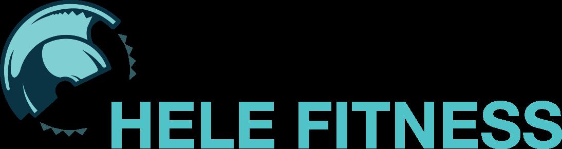 Hele Fitness horizontal logo