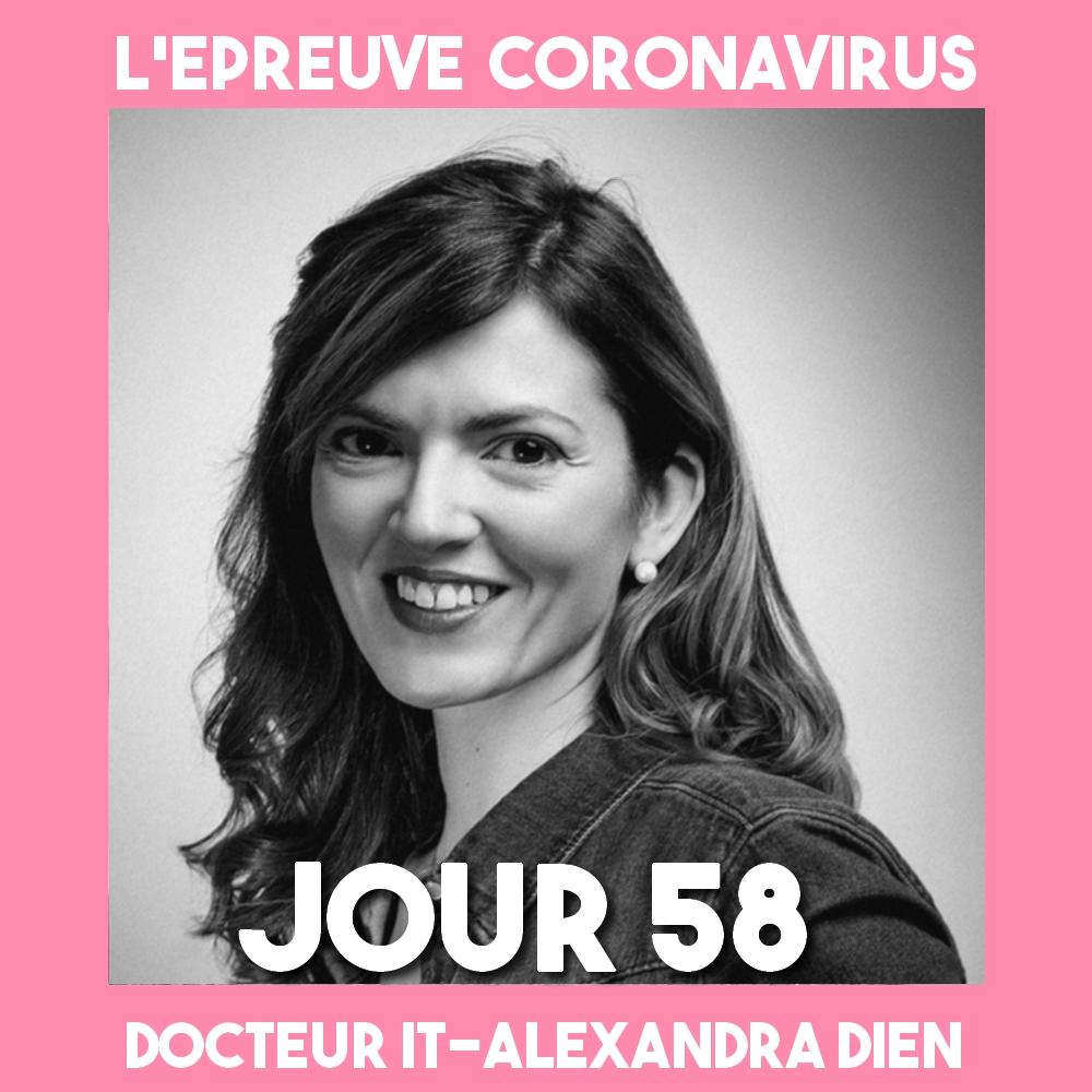 DIEN_Alexandra _Epreuve_Coronavirus_Podcast