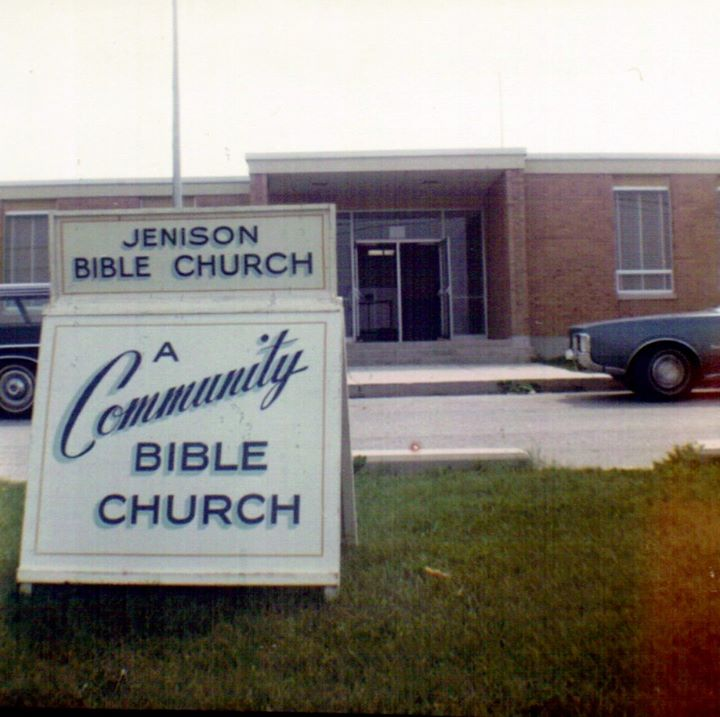 First church sign in 1971