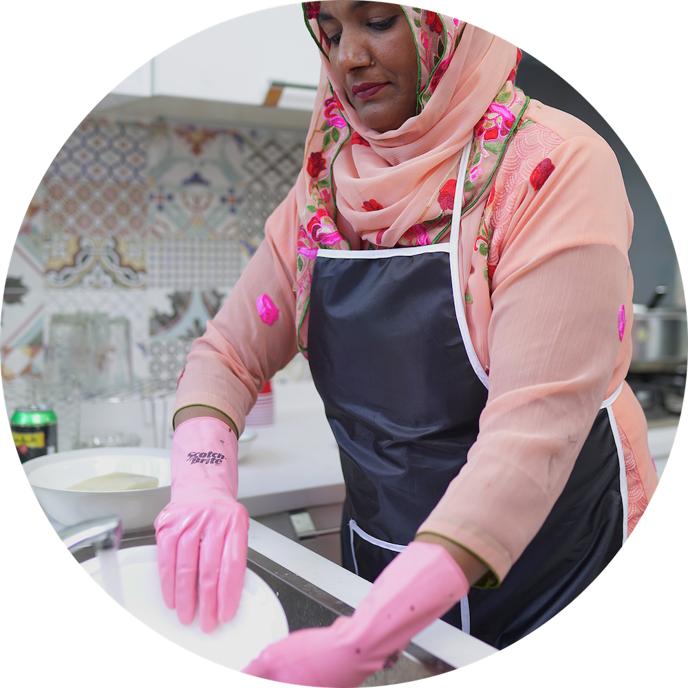 Expert and professional cooks and kitchen helpers for dish washing available in Islamabad, Rawalpindi and Lahore