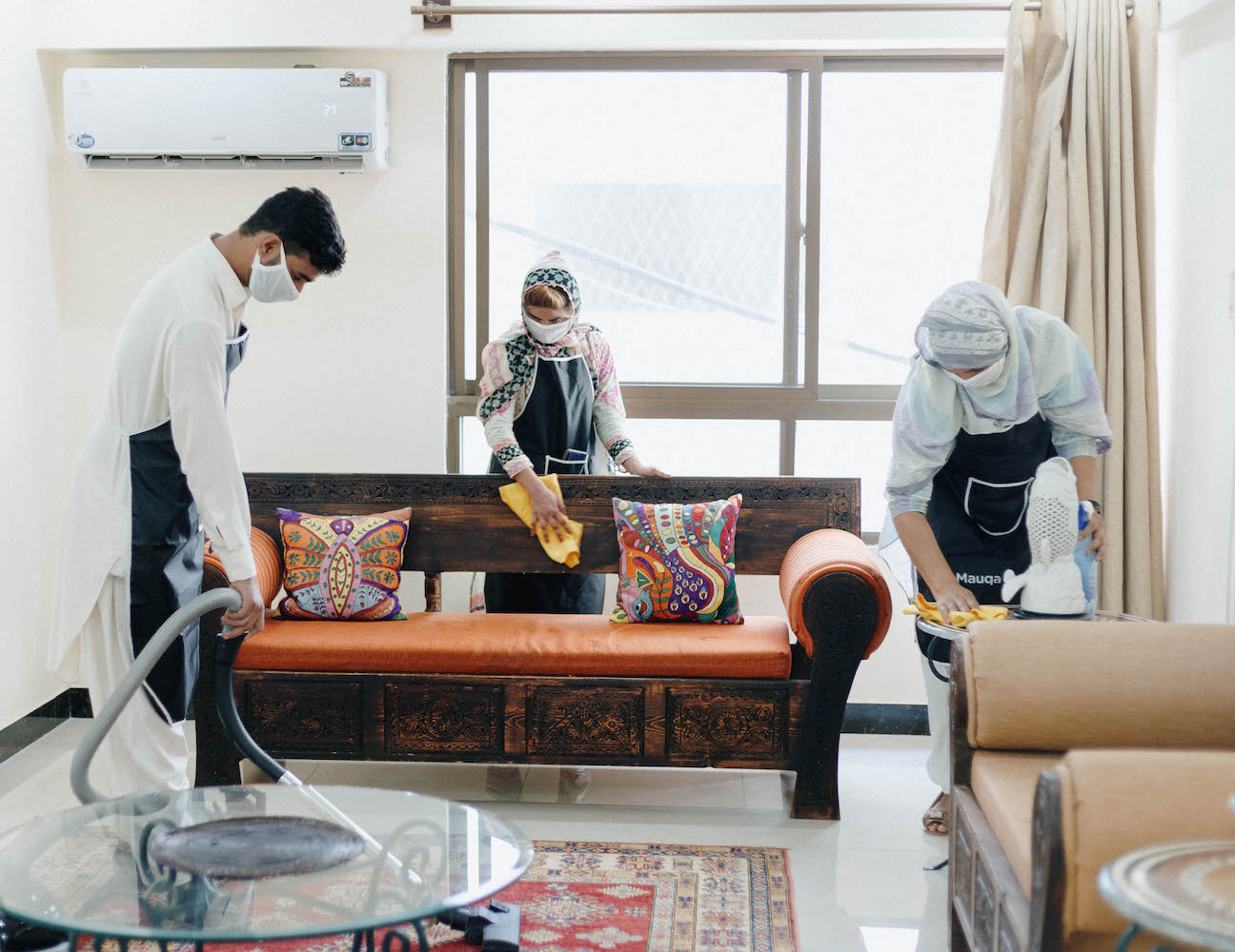 maids and cleaners for house cleaning in Islamabad, Rawalpindi and Lahore.