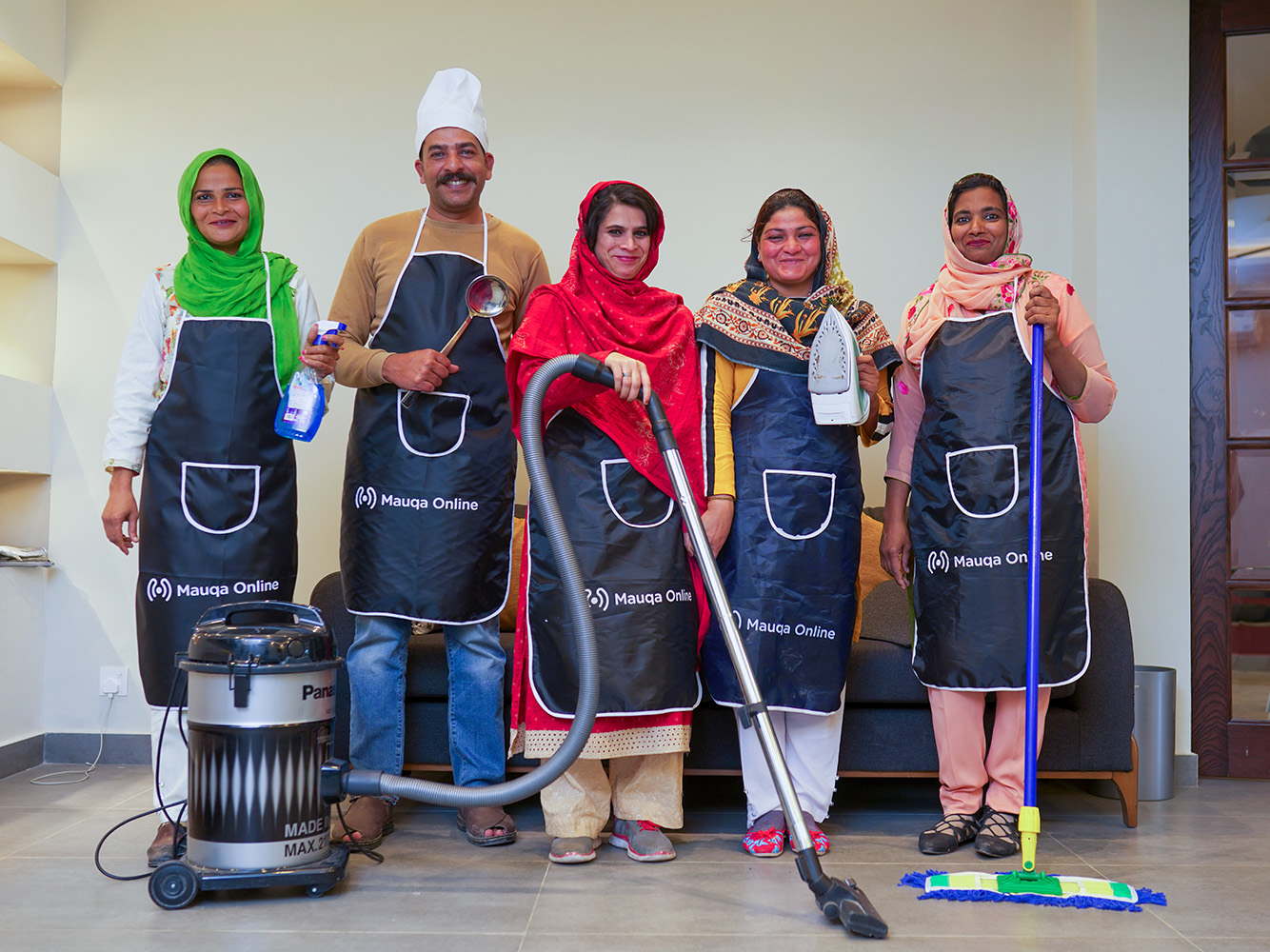 maids and cleaners for regular household chores in Islamabad, Rawalpindi and Lahore.