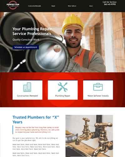 web design for financial company