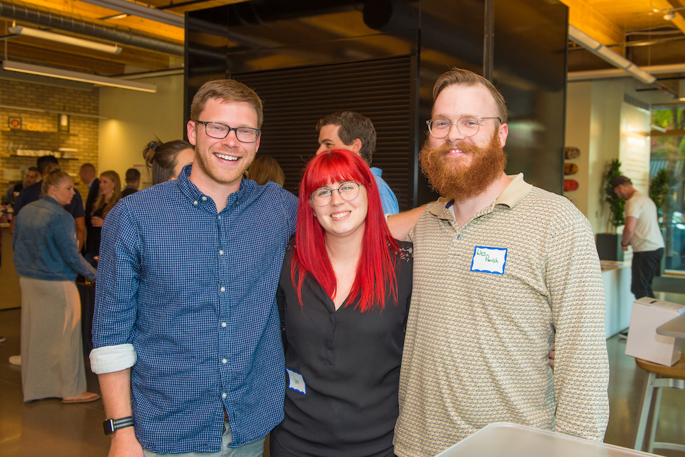 Wes and other Ombuddies at the Colorado Startup Brew VIP night
