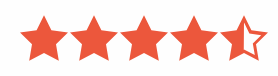 4.5 star review