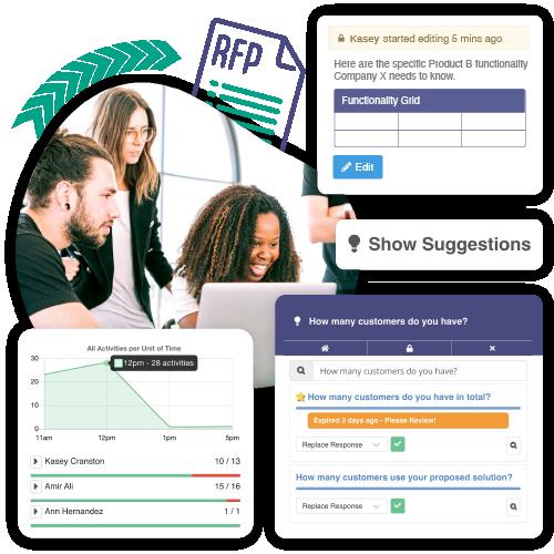 Screenshot of Ombud platform