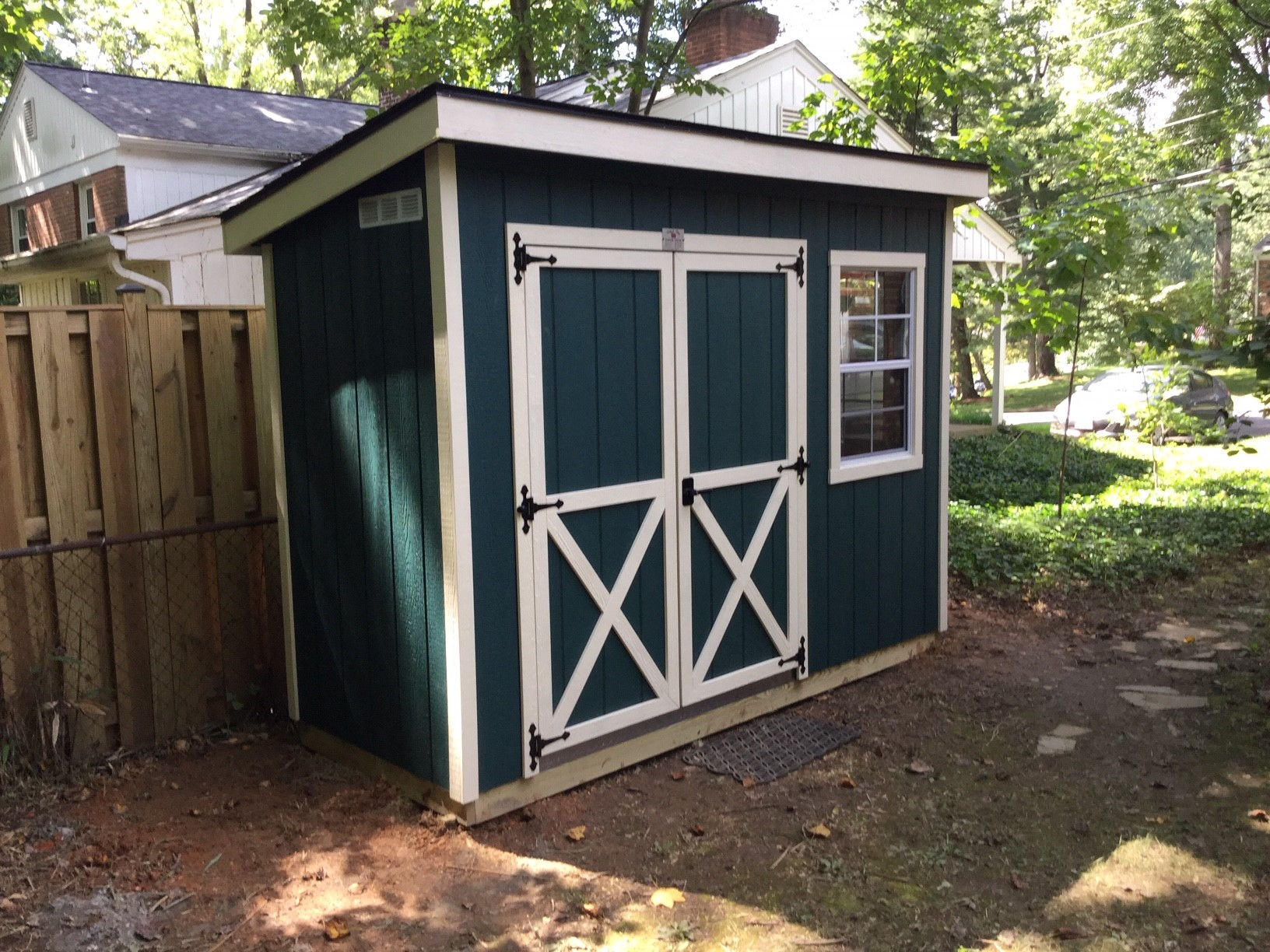 We are so pleased with our adorable, sturdy and useful new garden shed! The staff at This n' That made the process easy and pleasant—thanks!