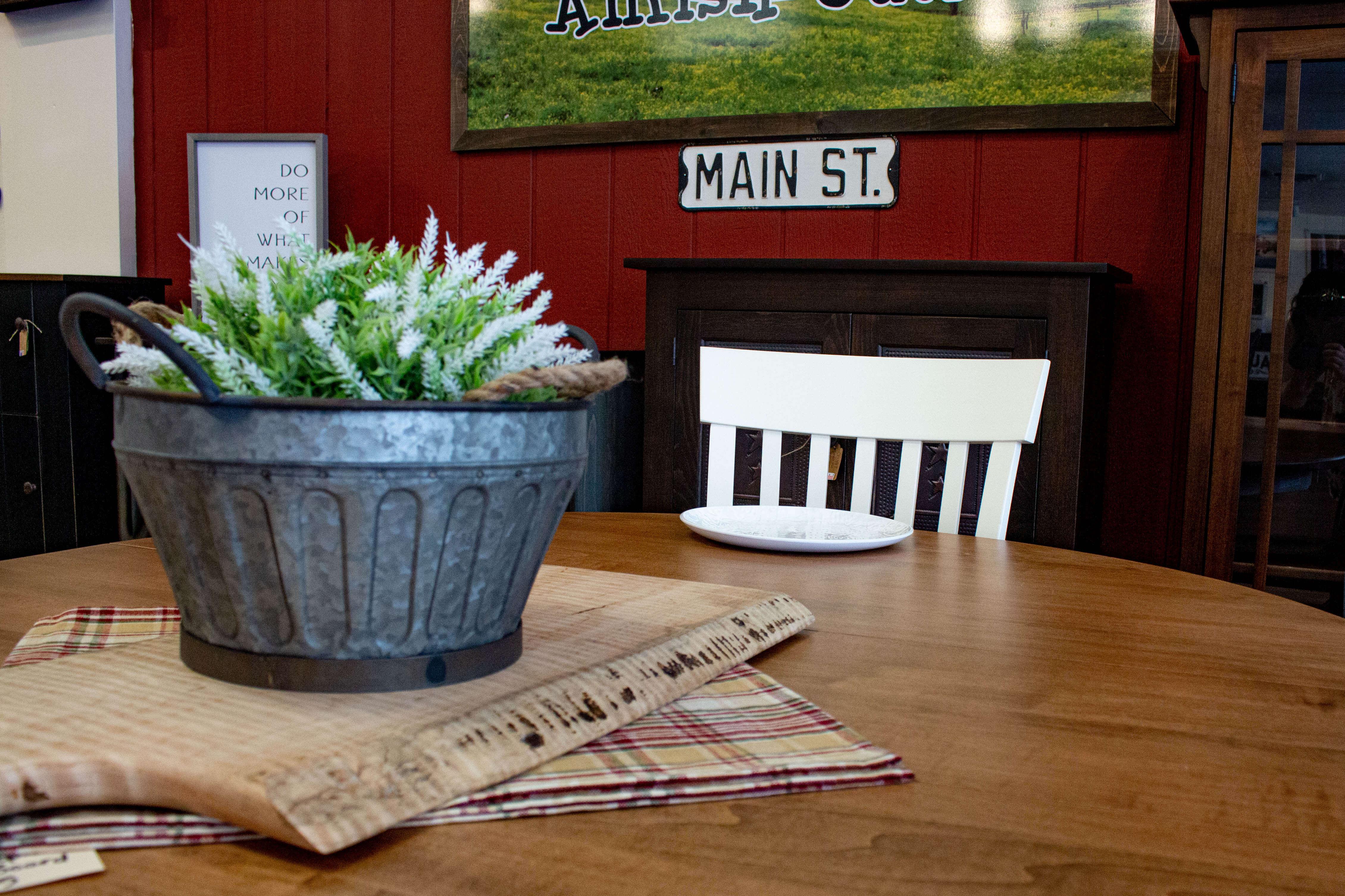 Amish Furniture Dining Room