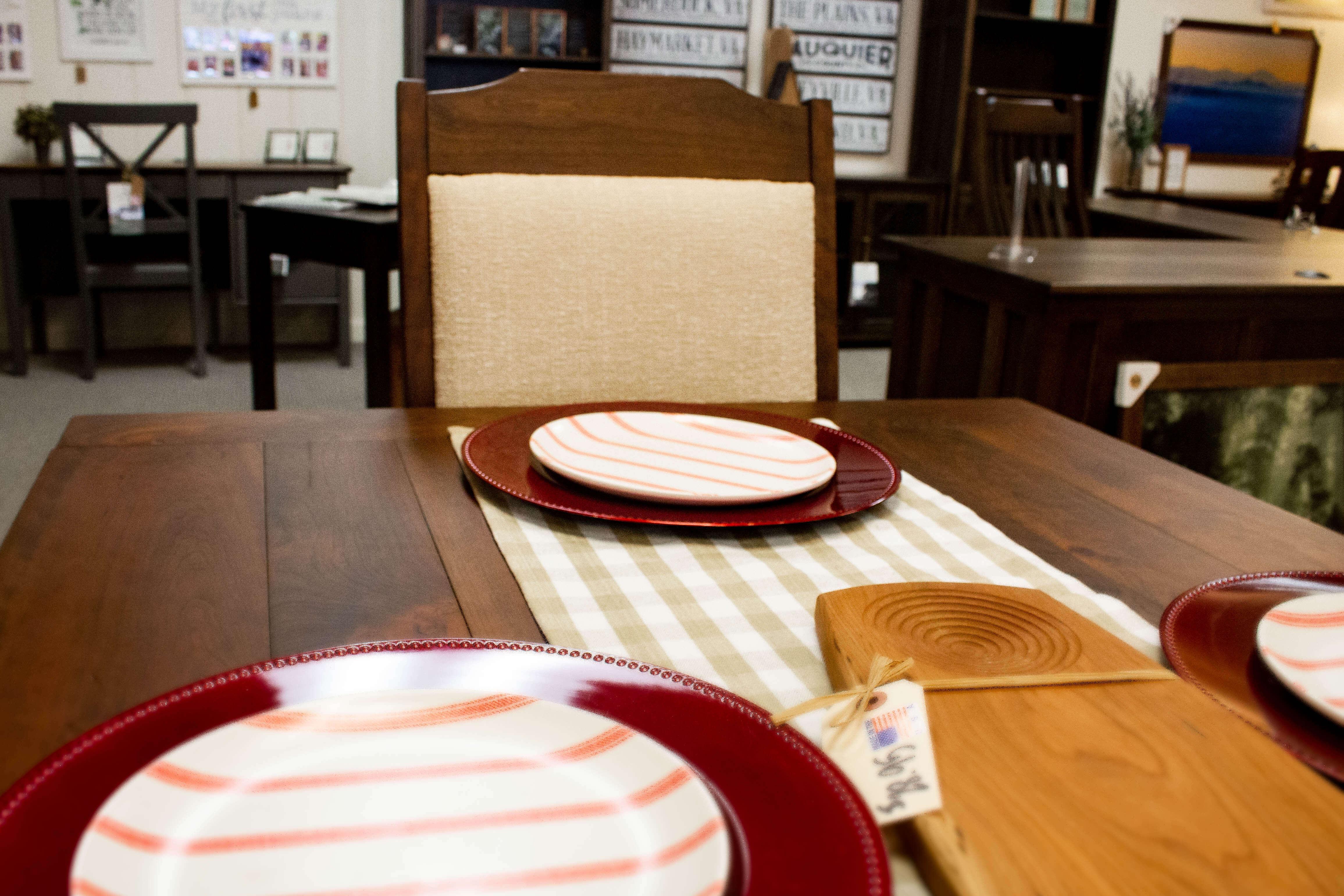 Amish Furniture Dining Room Set