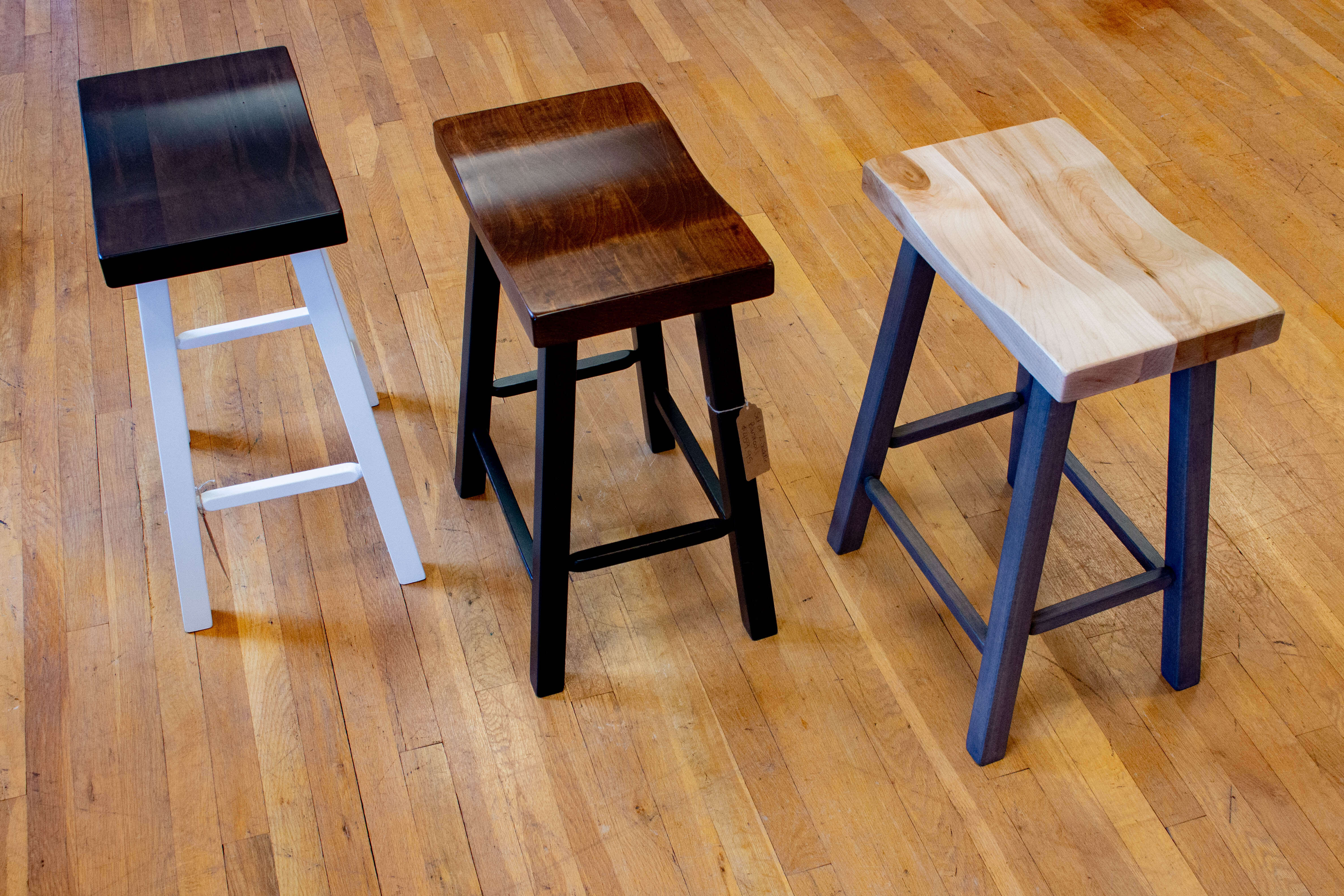 Amish Furniture benches bench stool