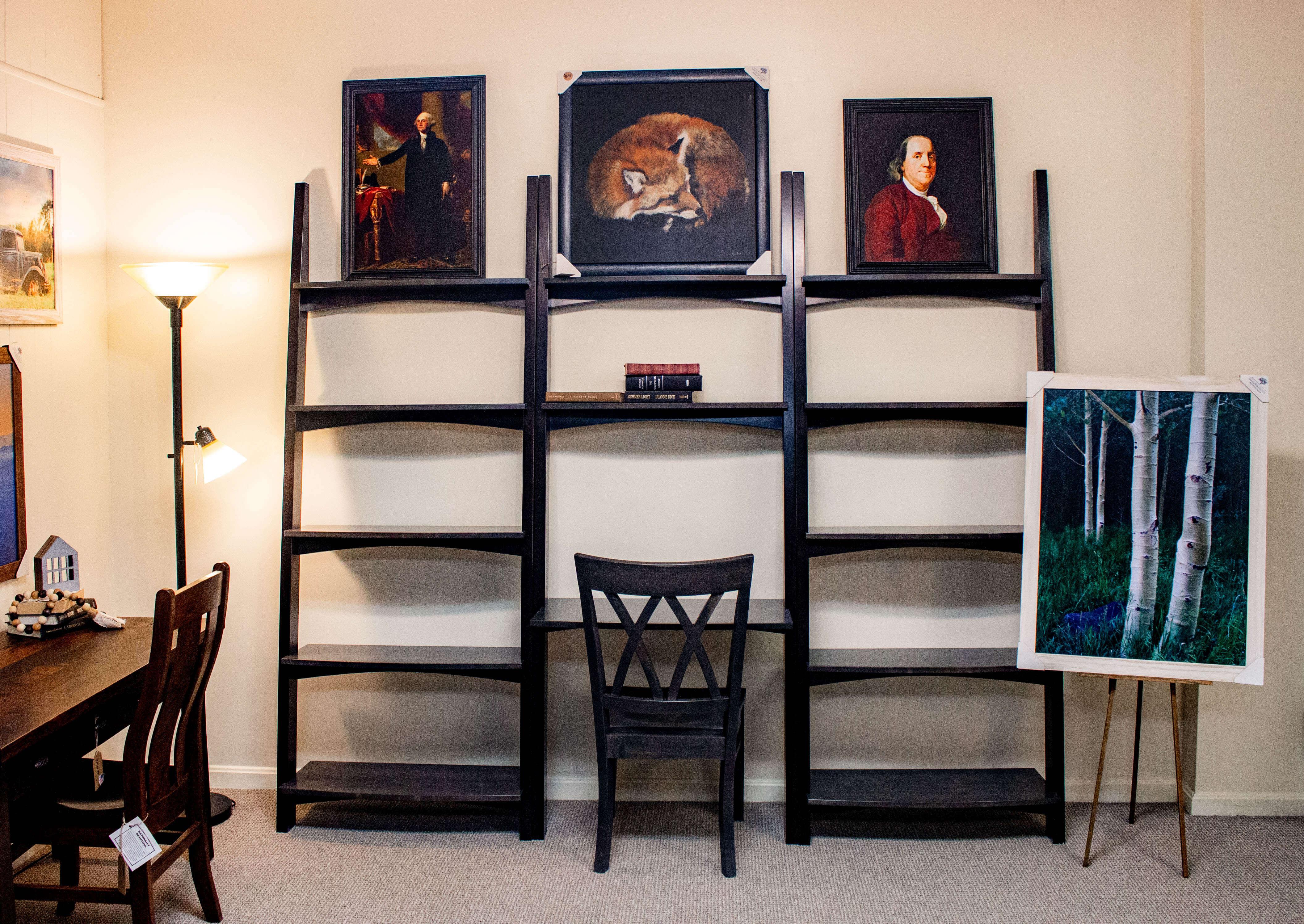 Amish Furniture Book Shelf Desk