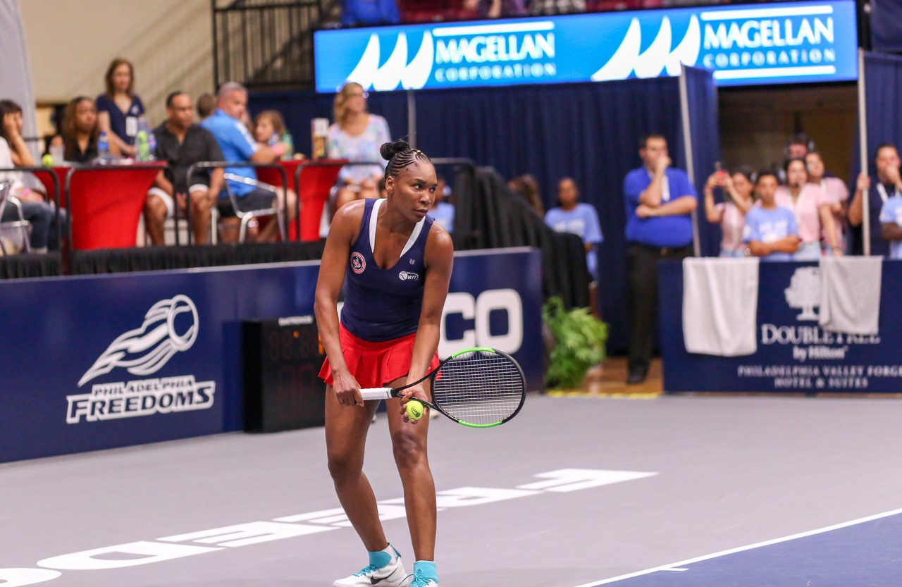Philadelphia Freedoms' Tennis Court