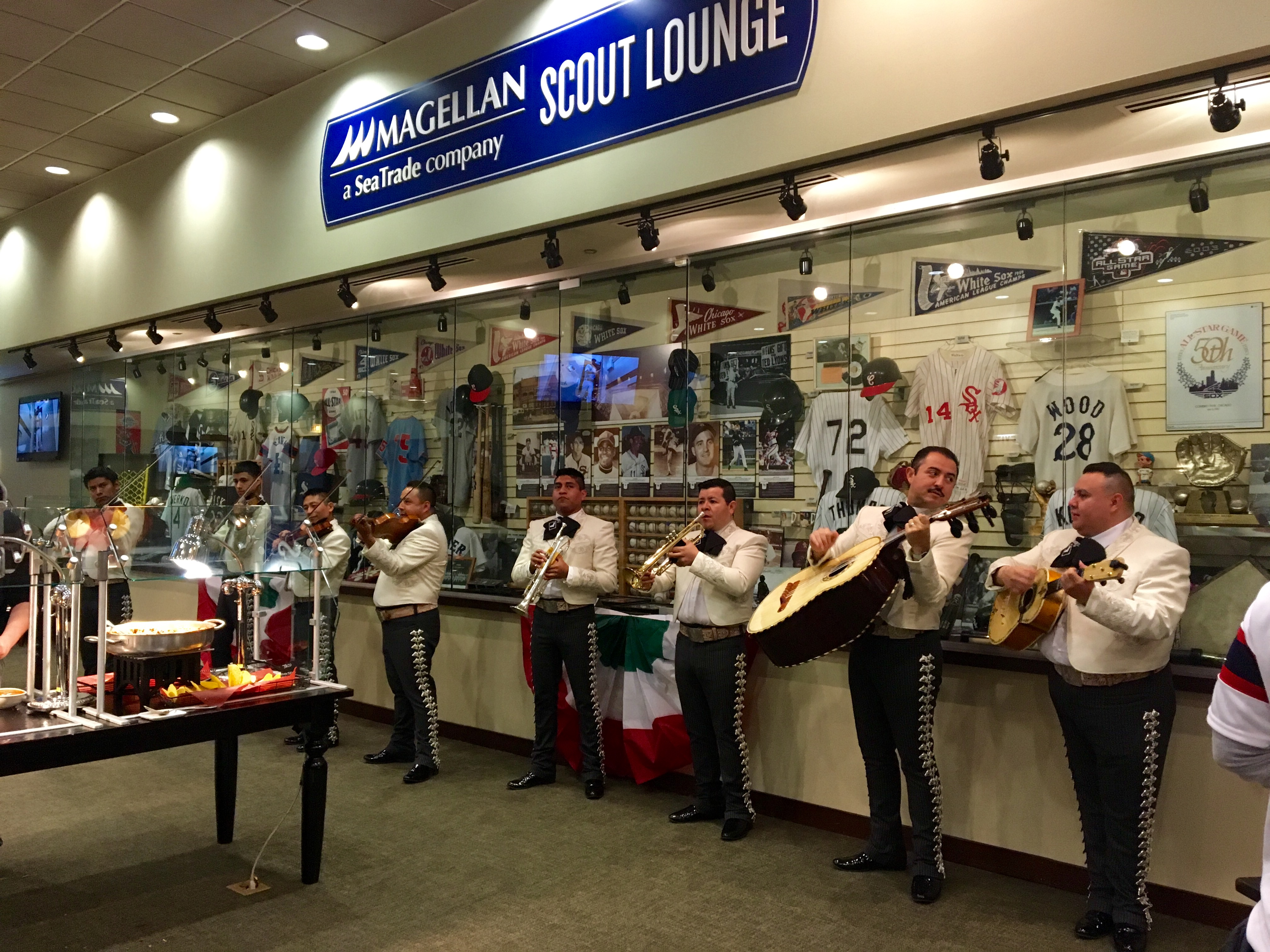 Mariachis spotted in the Magellan Scout Lounge on Cinco de Mayo.