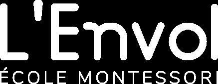 Logo Nom Envol Blanc
