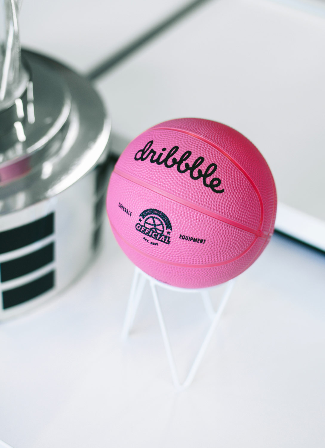 A Dirbbble ball.