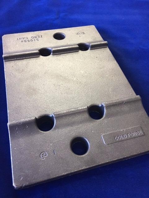 S10684 - 127mm Zero Cant Sleeper Plate