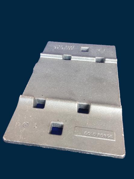 S10503 - 127mm Zero Cant Sleeper Plate