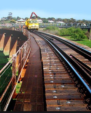 Grafton Timber Railway Bridge Fastenings Installation